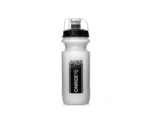 Фляга ONRIDE Sonora 600 ml прозрачная с колпачком