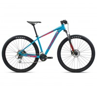 "Велосипед горный Orbea, MX50 29"", Blue Bondi- Bright Red (Gloss), 2021"