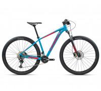 "Велосипед горный Orbea, MX30 27,5"", Blue Bondi- Bright Red (Gloss), 2021"