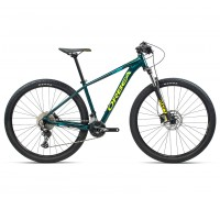 "Велосипед горный Orbea, MX30 27,5"", Ocean - Yellow (Gloss), 2021"