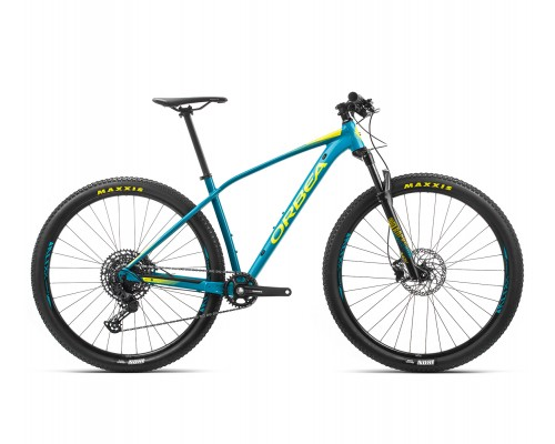 "Велосипед горный Orbea Alma H20, 27,5"", Blue-Yellow, 2020"