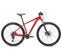 "Велосипед горный Orbea, MX30 27,5"", Bright Red (Gloss) / Black (Matte), 2021"