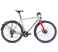Велосипед городской Orbea Carpe 25, White-Red, 2020