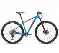 "Велосипед горный Orbea, MX20 27,5"", Blue Bondi- Bright Red (Gloss), 2021"