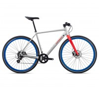 Велосипед городской Orbea Carpe 30, White-Red, 2020