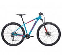 "Велосипед горный Orbea, MX40 27,5"", Blue Bondi- Bright Red (Gloss), 2021"