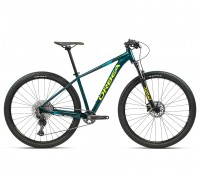 "Велосипед горный Orbea, MX20 27,5"", Ocean - Yellow (Gloss), 2021"