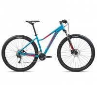 "Велосипед горный Orbea, MX40 ENT 27,5"", Blue Bondi- Bright Red (Gloss), 2021"