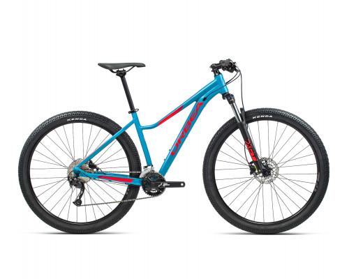 "Велосипед горный Orbea, MX40 ENT 27,5"", Blue Bondi- Bright Red (Gloss), 2021"