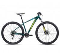 "Велосипед горный Orbea, MX40 27,5"", Ocean - Yellow (Gloss), 2021"