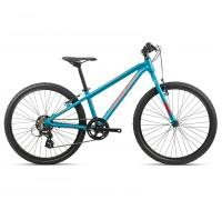 Подростковый велосипед Orbea, MX 24 Dirt, Blue-Red, 2020