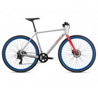 Велосипед городской Orbea Carpe 40, White-Red, 2020