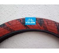 Купить Велопокрышка Ralson, R-4602, 20X2.125 BLACK/ RED в Украине