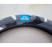 Купить Велопокрышка Ralson, R-4602, 20X2.125 WHITE/ BLACK/ GREY в Украине