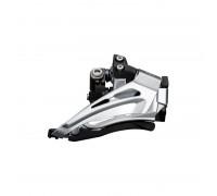 Купить Переключатель передний FD-M6025-L, DEORE 2X10, LOW CLAMP TOP-SWING, DOWN-PULL, хомут в Украине