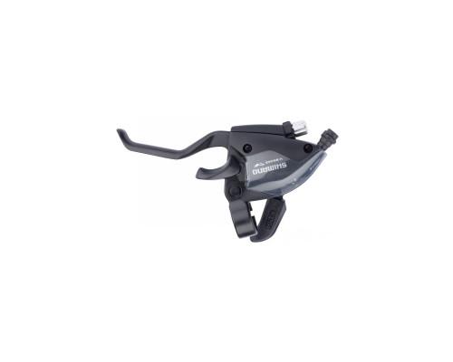 Тормозов ручка / Шифтер (моноблок) ST-EF51 левый 3-н трос, черный ОЕМ
