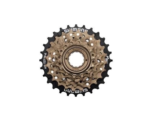 Звезды задние с трещеткой Shimano MF-TZ500-6, 14-28, 6-ск.