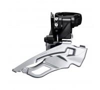 Переключатель передний FD-T6000-H, DEORE 3X10, для 44/48, HIGH CLAMP, DOWN-SWING, DUAL-PULL