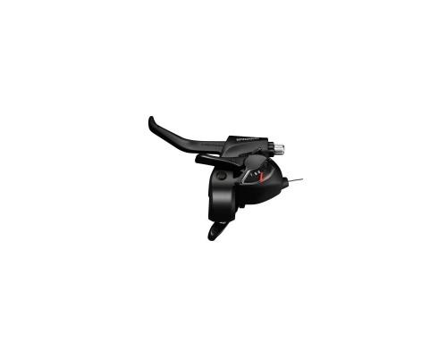 Тормозов ручка / Шифтер (моноблок) ST-EF41 левый 3-н, черный ОЕМ