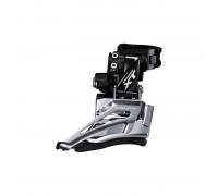 Купить Переключатель передний FD-M8025-H DEORE XT, 2X11 HIGH CLAMP, DOWN-SWING, универсальн. тяга, хомут в Украине