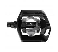 Купить Педали PD-T421, Click`R SPD, рамка, черный в Украине