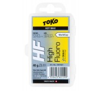 Воск Toko для лыж и сноубордов HF Hot Wax yellow 40g
