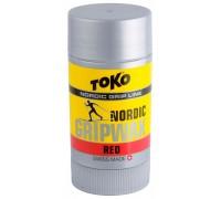 Универсальная мазь Toko для лыж и сноубордов Nordlic GripWax red 25g