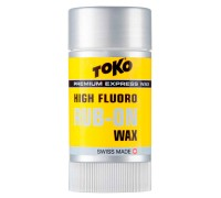 Воск Toko для лыж и сноубордов HF Rub-on-Wax 25g