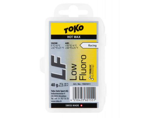Воск Toko для лыж и сноубордов LF Hot Wax yellow 40g