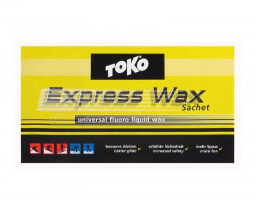 Пропитанная воском ткань Toko для лыж и сноубордов Express WAX Sachet 7g