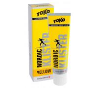 Клистер Toko для лыж и сноубордов Nordic Klister yellow 55g