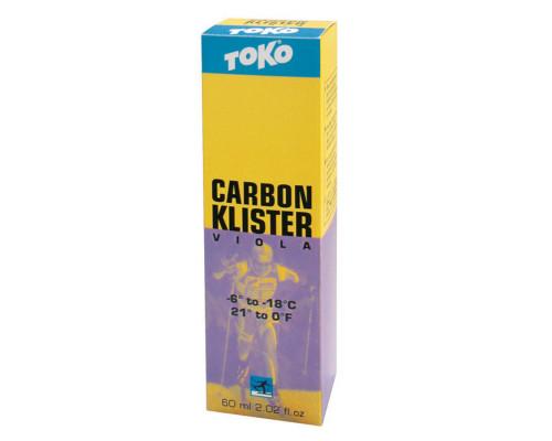 Клистер Toko для беговых лыж Carbon Klister viola 60ml