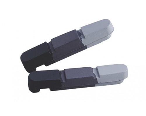 Картриджи для колодок Alligator для алюминиевых ободов черный / серый / белый