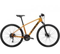 """Велосипед городской Trek, Dual Sport 3, 700С"""" оранжевый, 2021"""