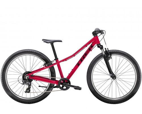 Велосипед подростковый Trek Precaliber 24 8-speed Suspension Girl's, розовый, 2021