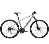 """Велосипед городской Trek, Dual Sport 2, 700С"""" серебристый, 2021"""