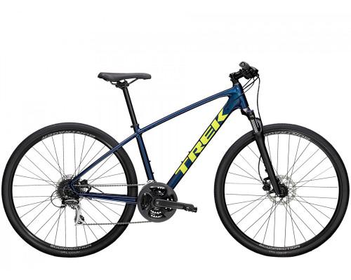 """Велосипед городской Trek, Dual Sport 2, 700С"""" синий, 2021"""
