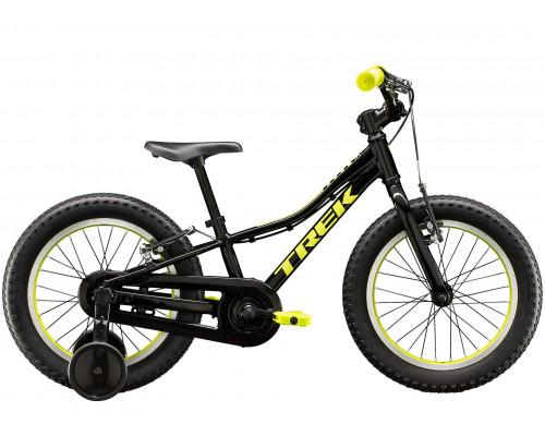 Велосипед детский Trek PRECALIBER 16 BOYS CB 16 BK, черный, 2021
